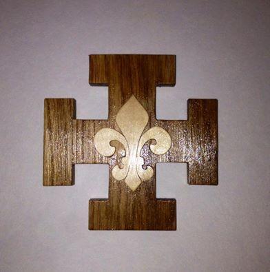 Croix scoute inspiration scouts de France