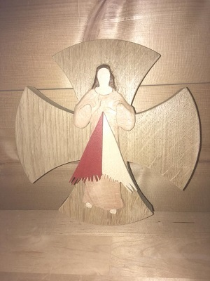 Croix christ de la misericorde