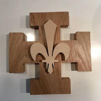 Croix scoute inspiration Scouts Unitaires de France