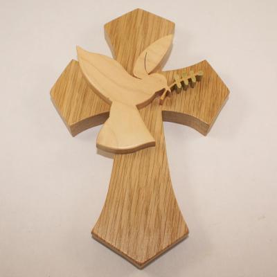 Croix avec Colombe et branche d'olivier Petit modéle