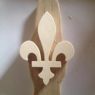 Signe promesse scoute en bois